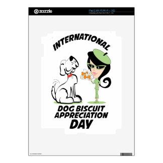 International Dog Biscuit Appreciation Day iPad 2 Decal