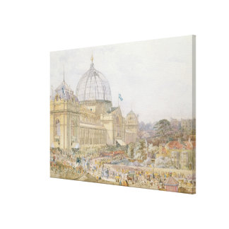 International Exhibition, 1862: Official Opening Canvas Prints