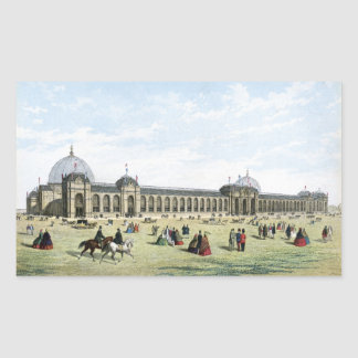 International Exhibition of 1862 Rectangle Stickers