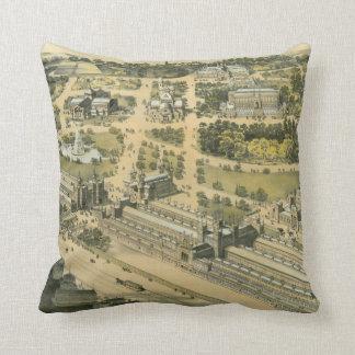 International Exhibition Philadelphia 1876 Pillows