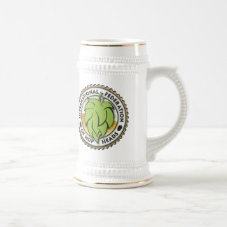 International Federation of Hop Heads Beer Stein