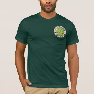 International Federation of Hop Heads - front/back T-Shirt