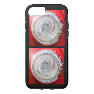 International Fire Truck Headlight Twirl Design iPhone 7 Case