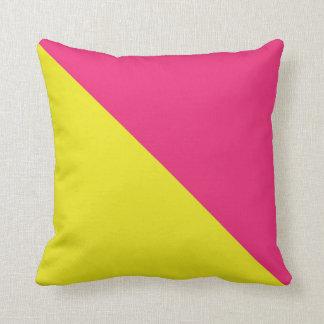 International Flag Code pillow- Letter O (Oscar) Throw Pillow