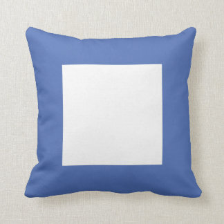International Flag Code pillow- Letter P (Papa) Throw Pillow