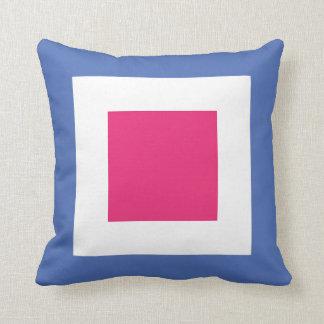 International Flag Code pillow- Letter W (Whiskey) Throw Pillow