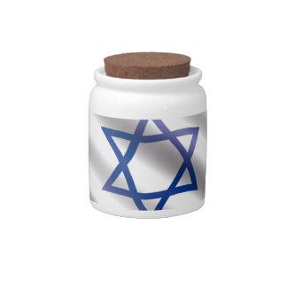 International Flag Israel Candy Dishes