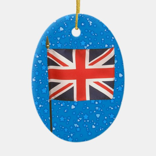 International Flags - SRF Ceramic Ornament
