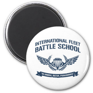 International Fleet Battle School Ender 2 Inch Round Magnet