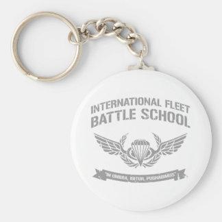 International Fleet Battle School Ender Basic Round Button Keychain