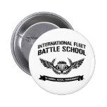International Fleet Battle School Ender Pinback Buttons