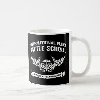 International Fleet Battle School Ender Classic White Coffee Mug