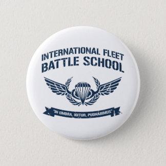 International Fleet Battle School Ender Pinback Button