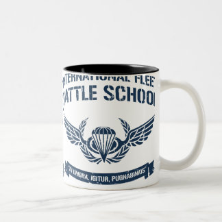 International Fleet Battle School Ender Two-Tone Coffee Mug