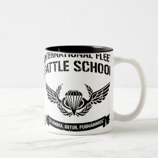 International Fleet Battle School Ender Two-Tone Coffee Mug