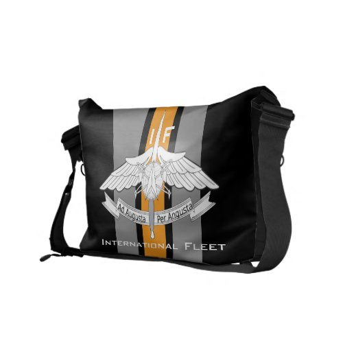 International FleetDragon Army Messenger Bag