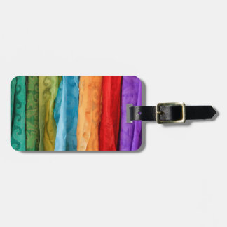 International Folk Art Market Luggage Tag