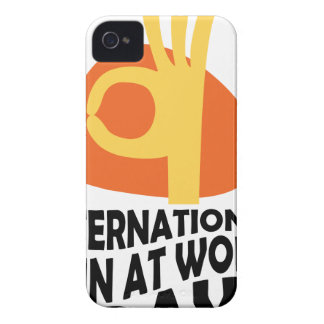 International Fun At Work Day - Appreciation Day iPhone 4 Case-Mate Case