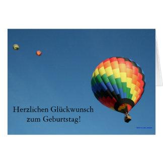 International Happy Birthday!  Customize Language! Greeting Cards
