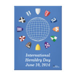 International Heraldry Day 2014 Stretched Canvas Prints