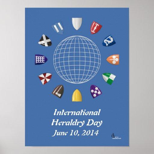 International Heraldry Day 2014 Posters