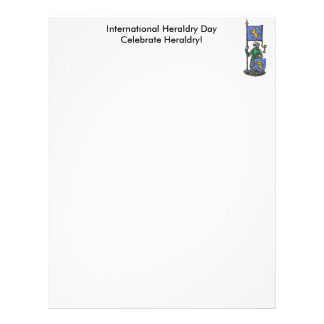 International Heraldry Day Letterhead