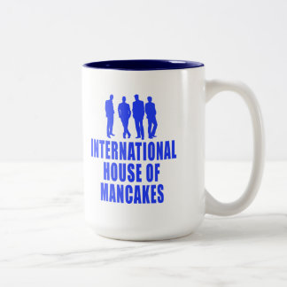 International House of Mancakes Two-Tone Coffee Mug