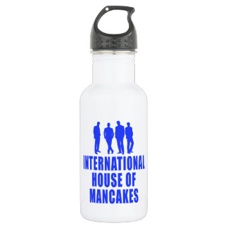 International House of Mancakes Water Bottle