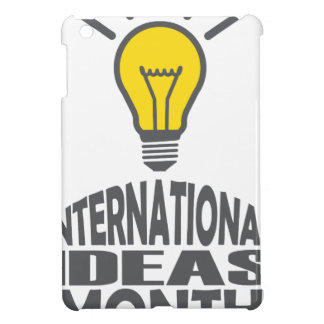 International Ideas Month - Appreciation Day Cover For The iPad Mini