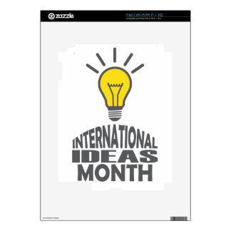 International Ideas Month - Appreciation Day Skin For The iPad 2