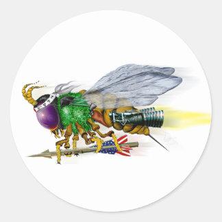 International Killer Bee - LaRue Classic Round Sticker