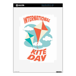 International Kite Day - Appreciation Day iPad 2 Skin