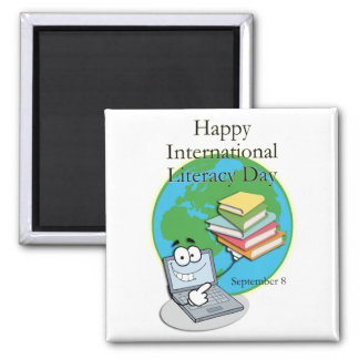 International Literacy Day September 8 Magnets