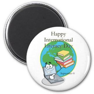 International Literacy Day September 8 Magnet