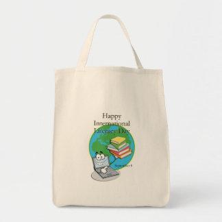 International Literacy Day September 8 Tote Bag
