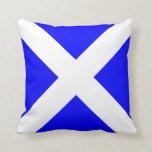 International maritime signal flag letter nautical pillow