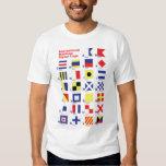 International Maritime Signal Flags Shirt