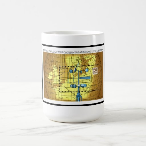 International Meteorologists Meeting, East Germany Classic White Coffee Mug