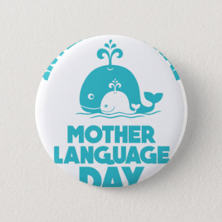 International Mother Language Day - 21st February Button