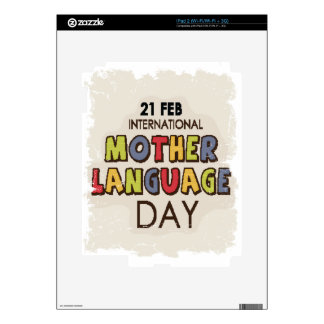 International Mother Language Day-Appreciation Day Skins For iPad 2