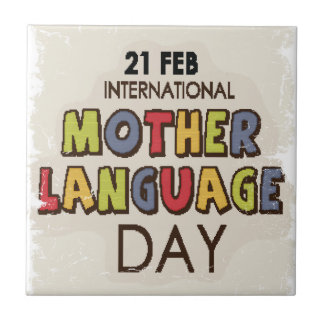 International Mother Language Day-Appreciation Day Tile
