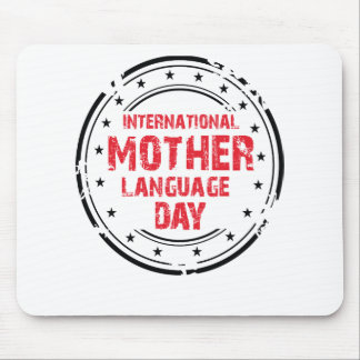 International Mother Language Day Mouse Pad