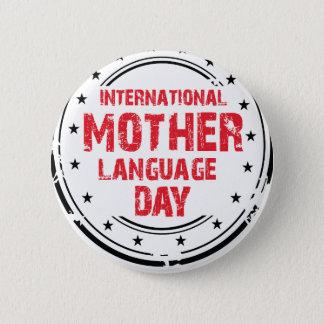International Mother Language Day Pinback Button