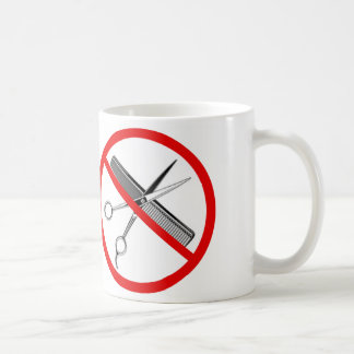 """International """"NO Scissors"""" symbol Coffee Mug"""