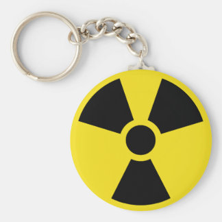 International Nuclear Sign Keychain