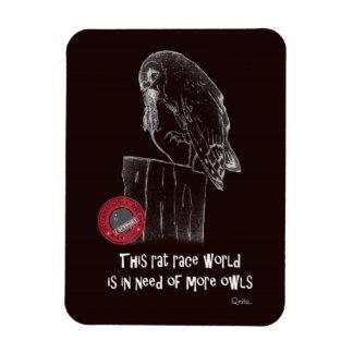 International Owl Day-4th August-Endangered Specie Magnet