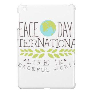 International Peace Day Label Designs iPad Mini Covers