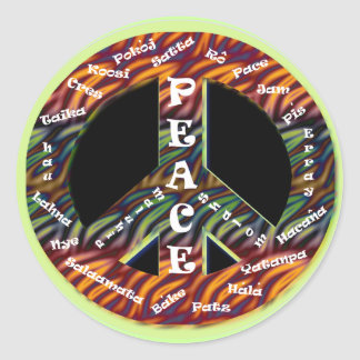 International Peace Sticker