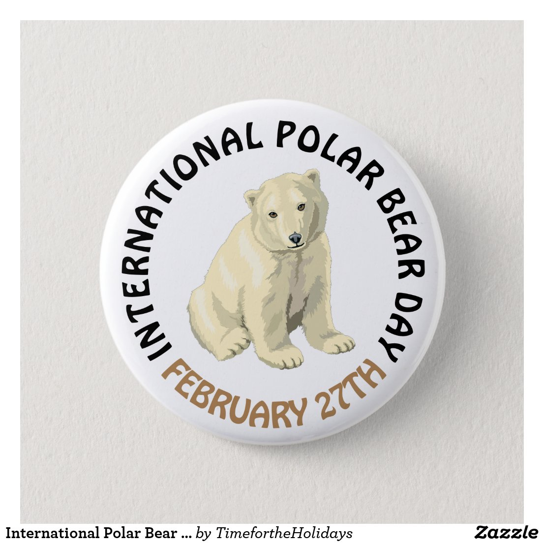 International Polar Bear Day February 27th Holiday