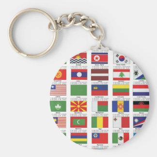 INTERNATIONAL PRIDE BASIC ROUND BUTTON KEYCHAIN